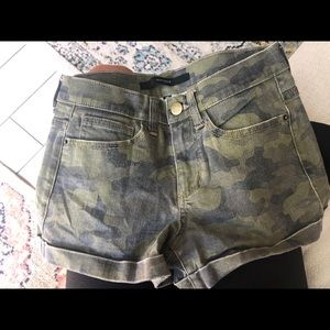 Army shorts worn once
